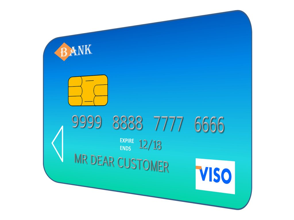 credit card, payment, bank